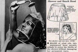 máscara para la ducha